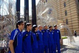 Israel national football team in Hungary