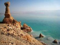 Monument Dead Sea