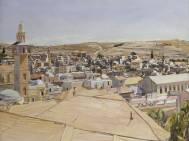 Jerusalem, Looking to Mount Scopus 1925 by David Bomberg 1890-1957